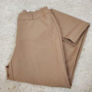 Alfani Career Trouser Leg Tummy Control Pa…
